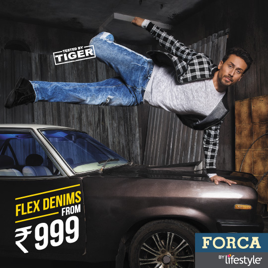 tiger shroff for forca AW 18