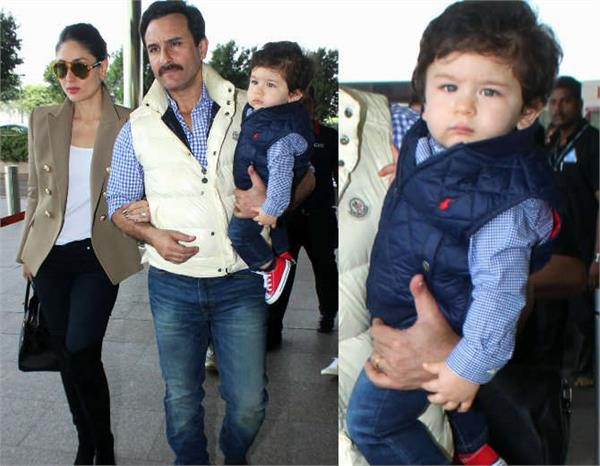 Taimur Ali Khan celebrity street style kids fashion