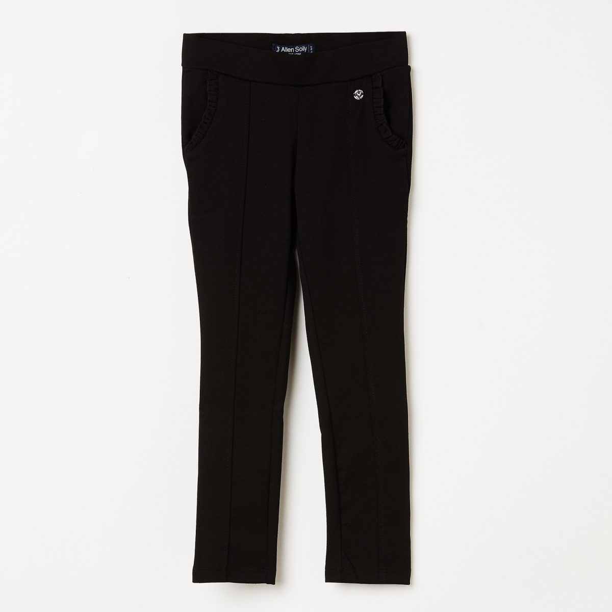 ALLEN SOLLY Solid Knitted Treggings