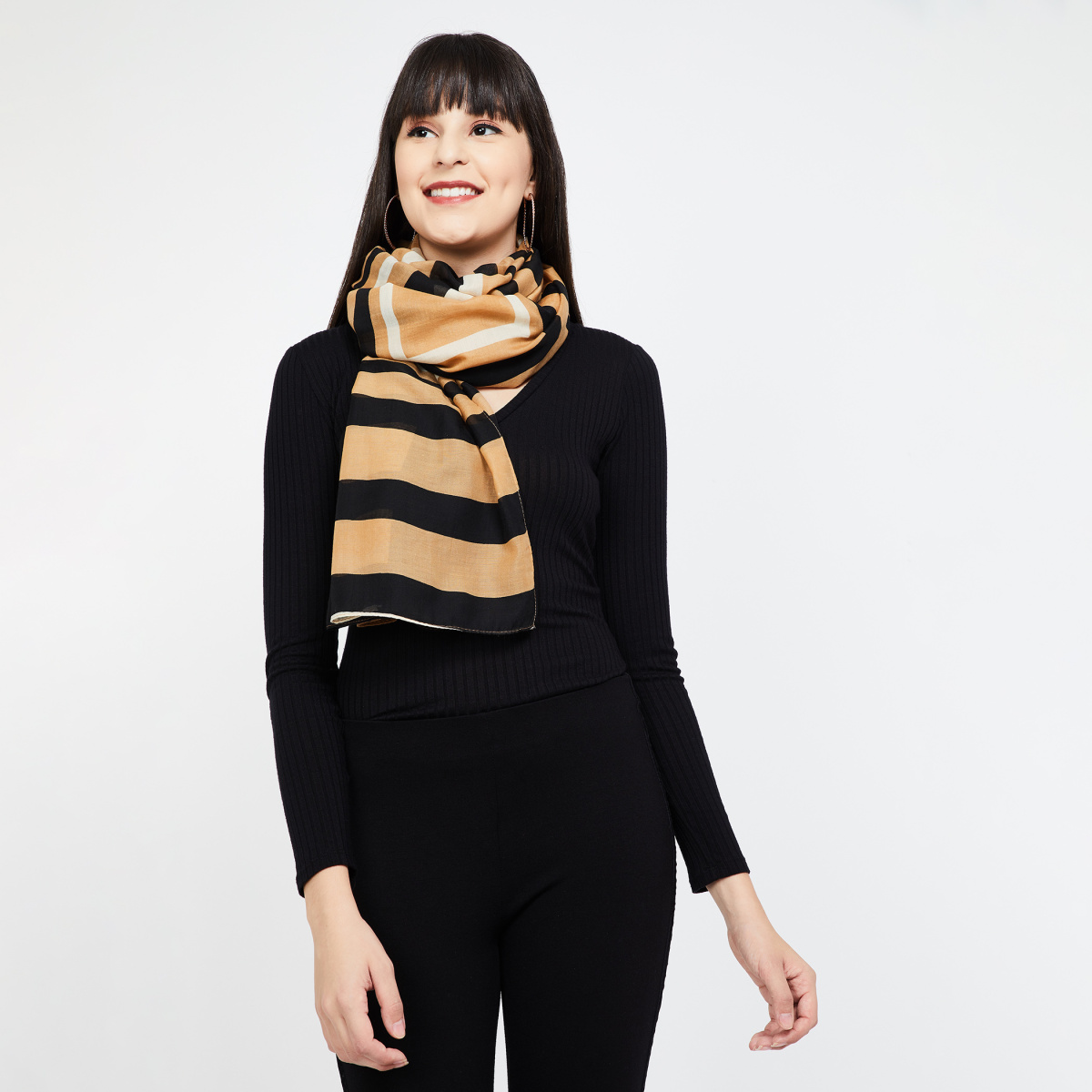 GINGER Striped Stole