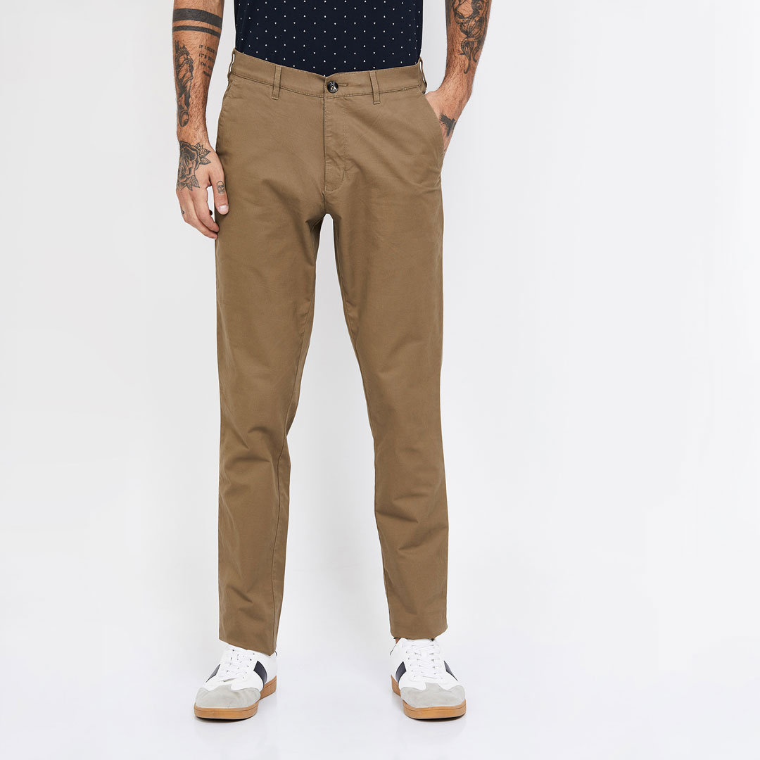 COLORPLUS-Solid-Slim-Fit-Chinos