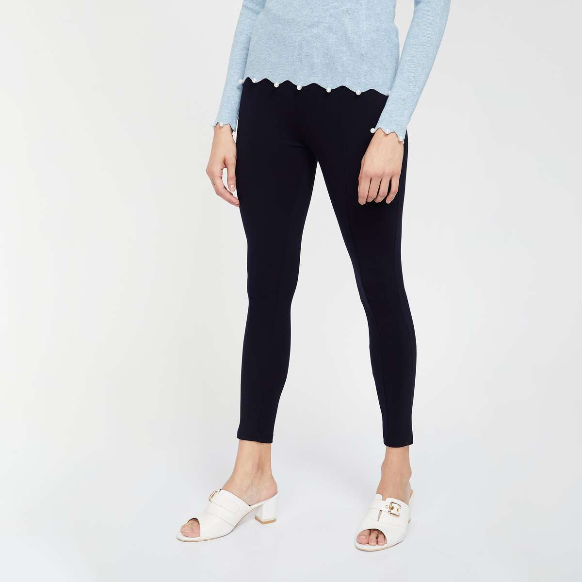 CODE Solid High-Rise Treggings