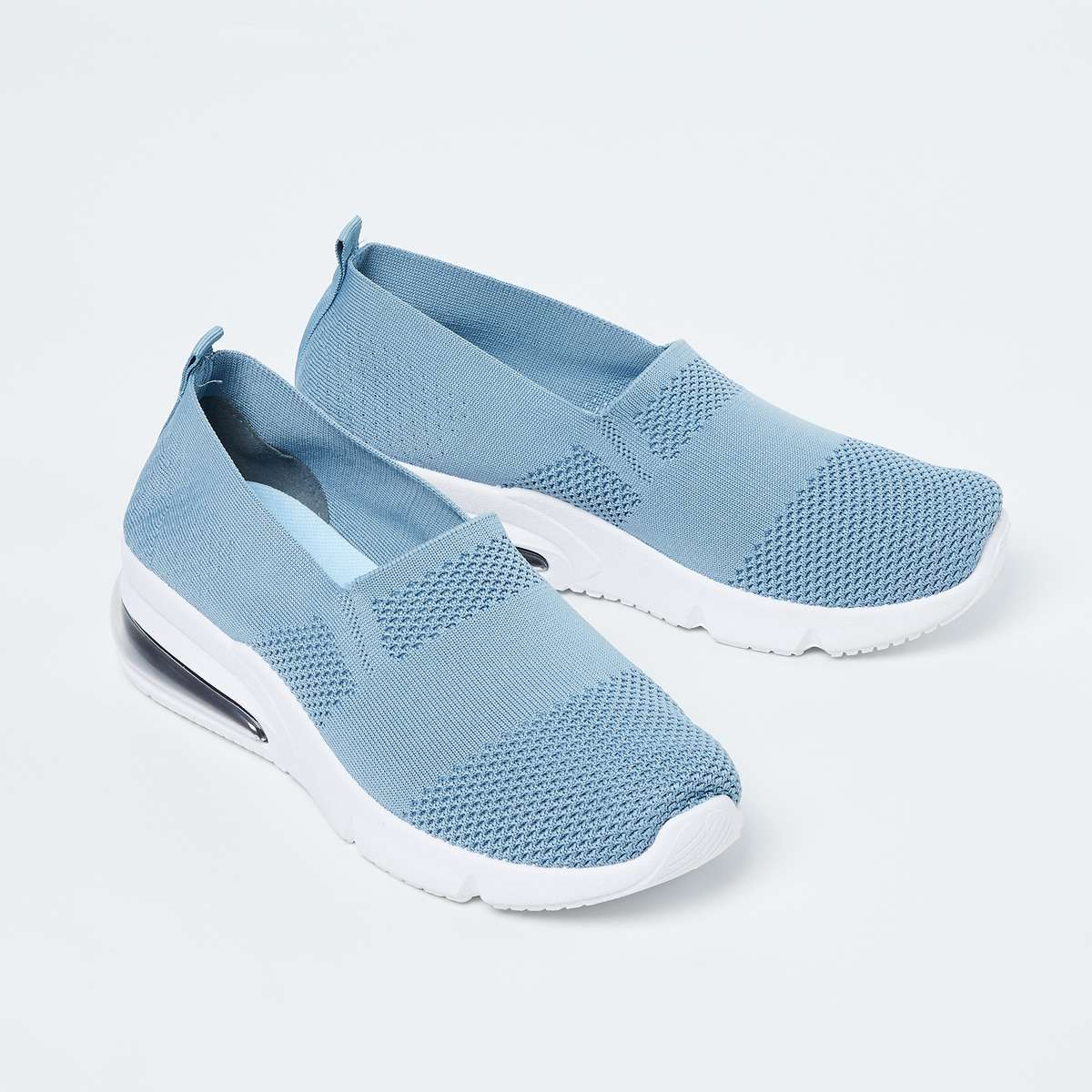 GINGER Patterned Knit Slip-On Shoes
