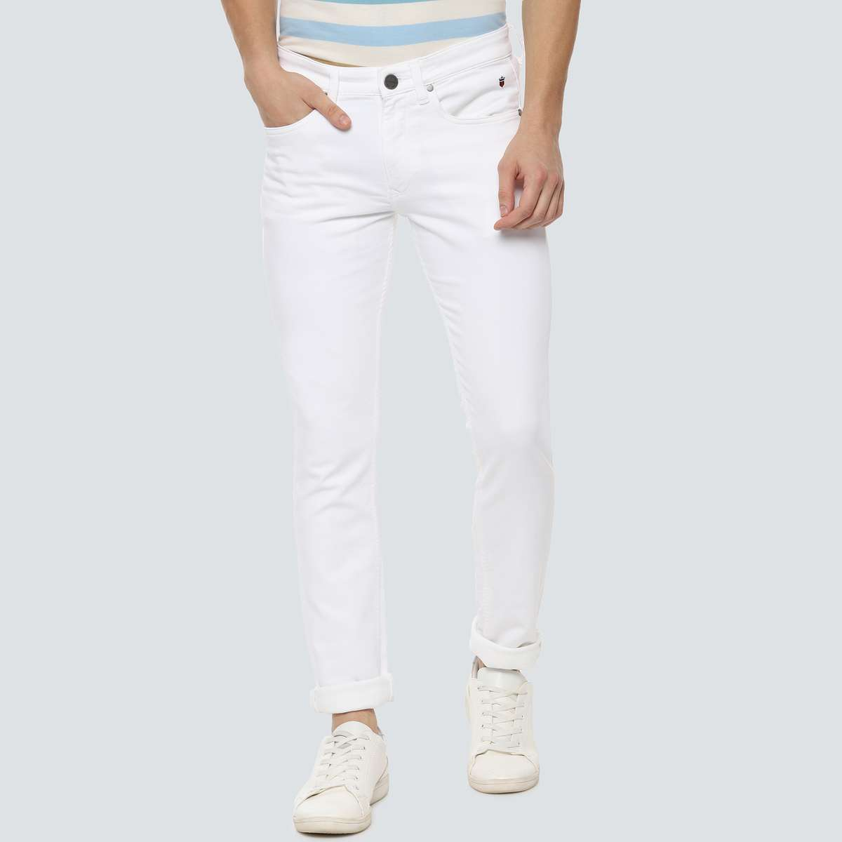 LP JEANS Solid Skinny Fit Jeans