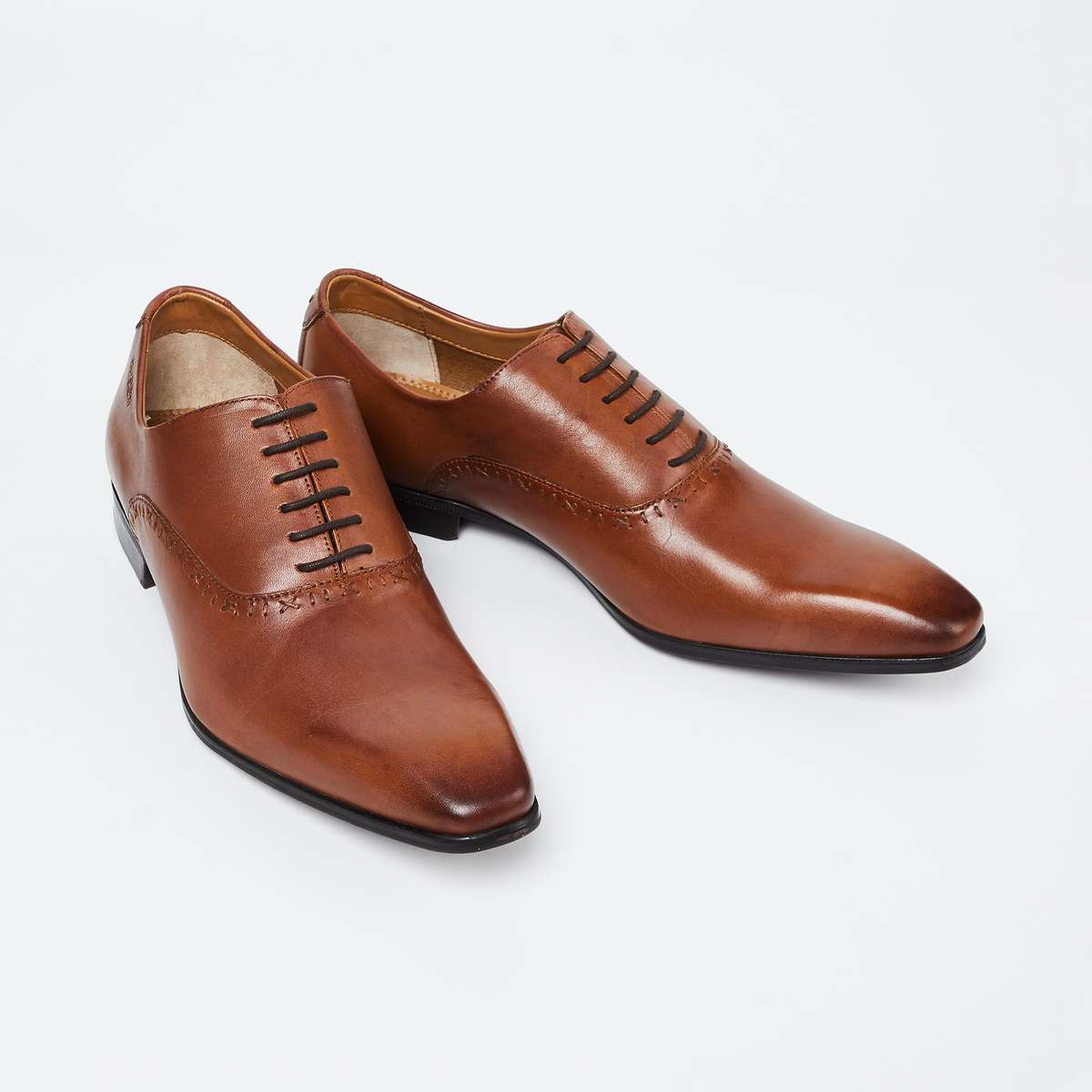 RUOSH Solid Formal Oxford Shoes
