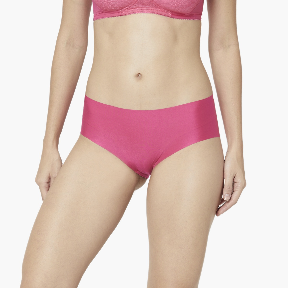 TRIUMPH Stretty Skin Fit 15 Seamless Hipster Panties - Pack of 2 Pcs.