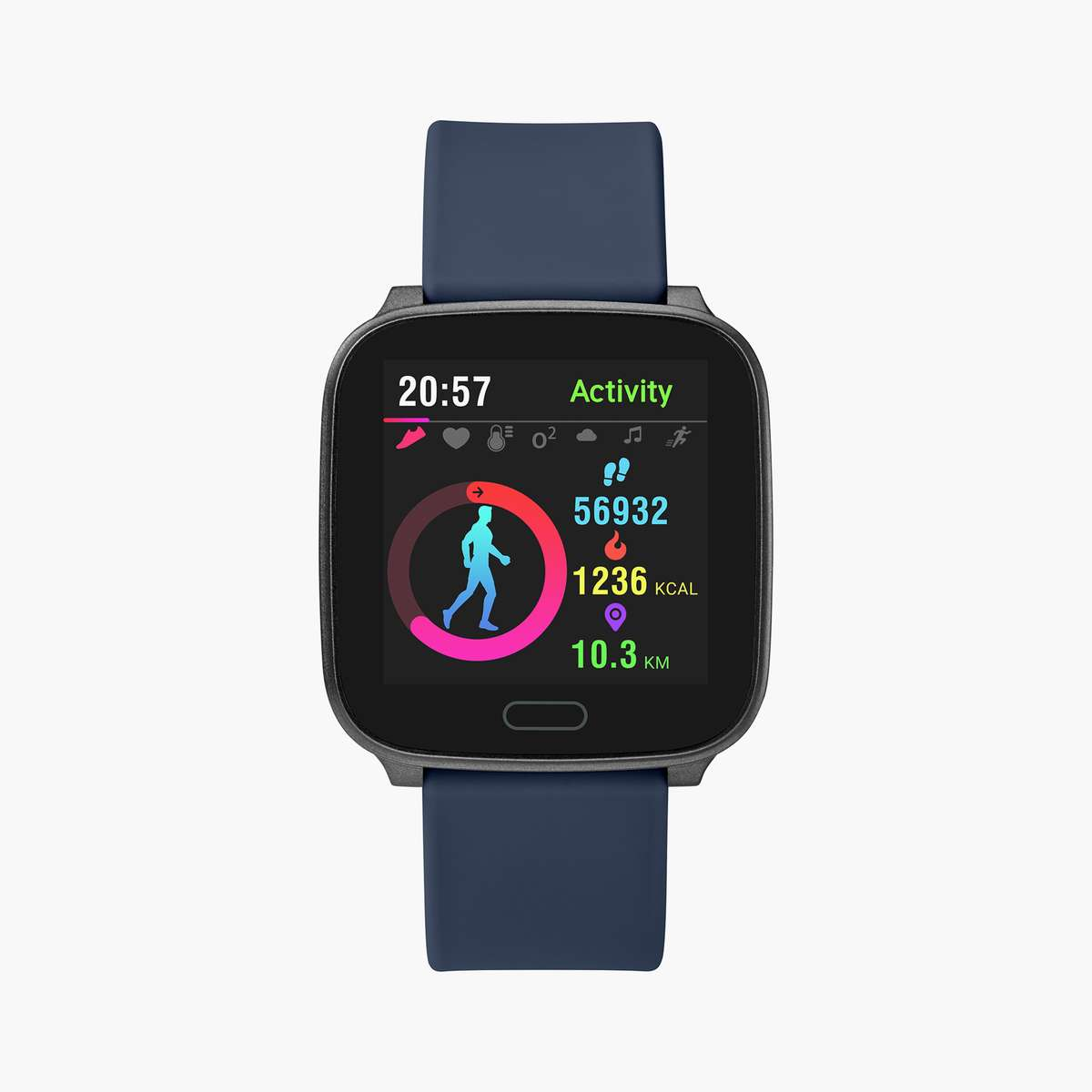 TIMEX Unisex iConnect Touch Smartwatch - TW5M34300