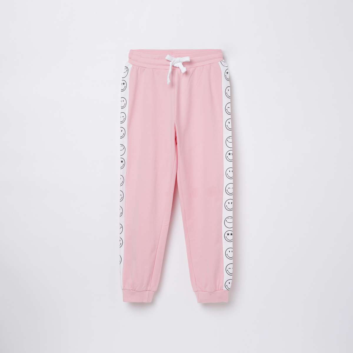 2.FAME FOREVER KIDS Girls Printed Elasticated Joggers