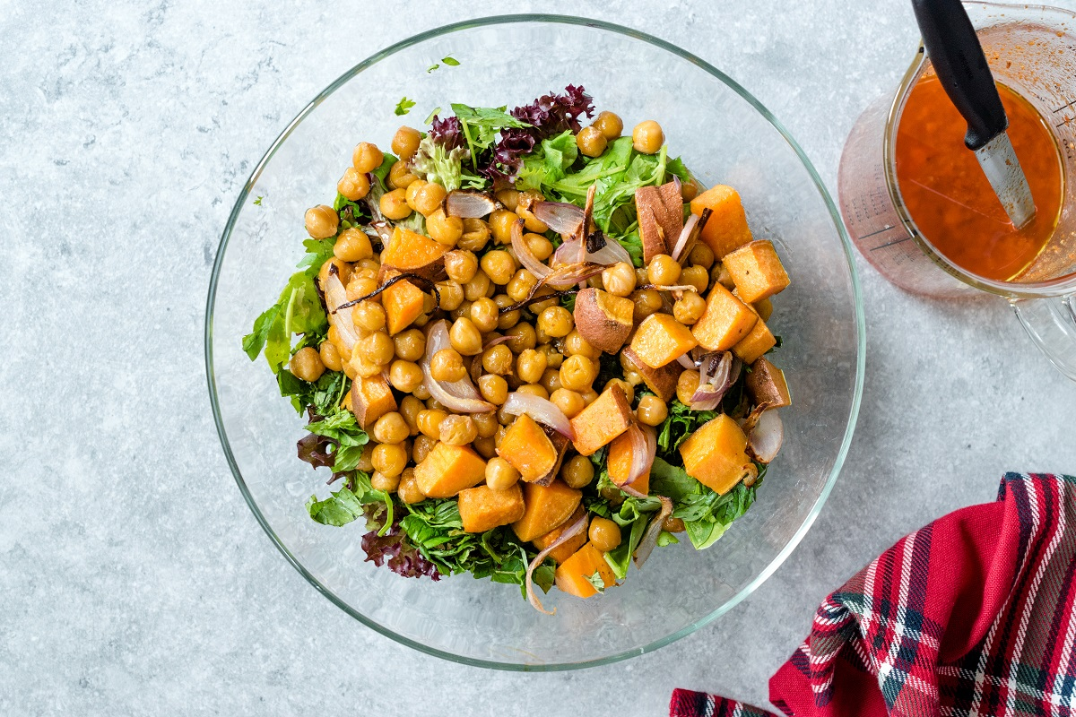 Protein-packed salads