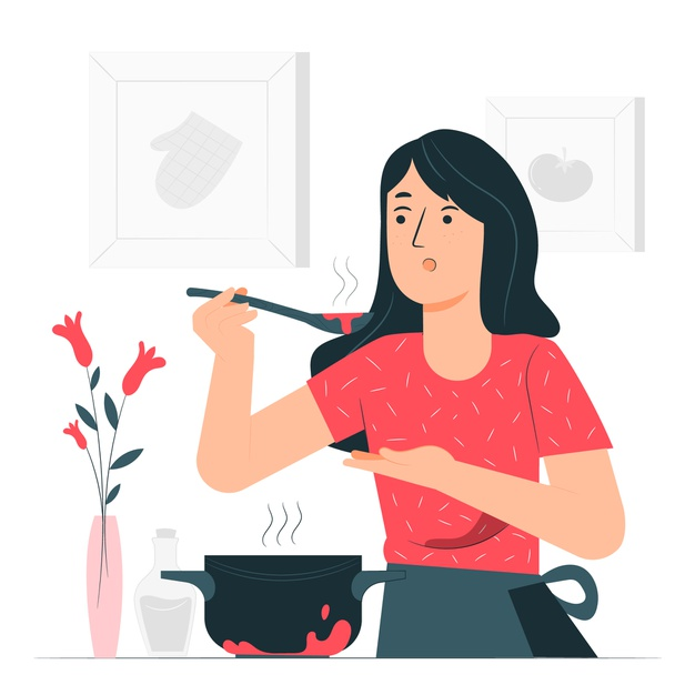 Cook each other's favourite meal