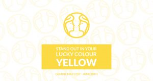Gemini--Stand-out-in-your-lucky-colour,-yellow