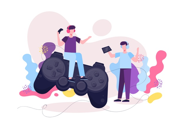 Play games together