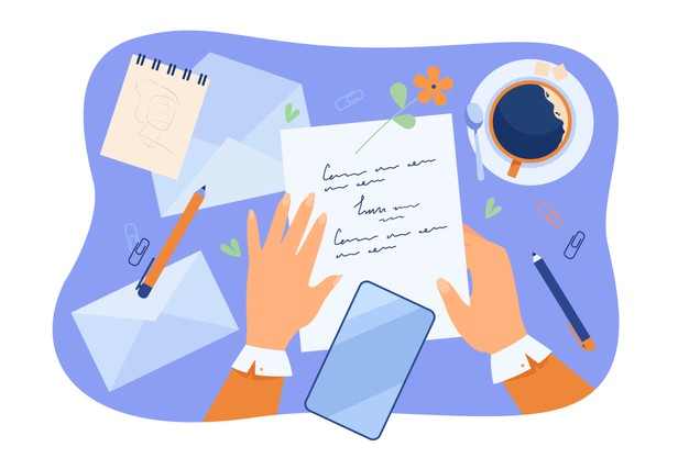 Write letters & emails to each other