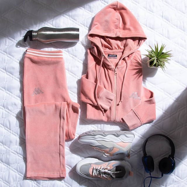 perfect pair of hoodie and track pants by Kappa from Lifestyle