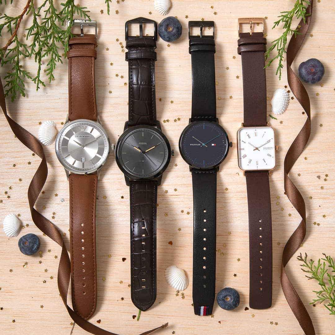 2.classy leather watches from the best of brands