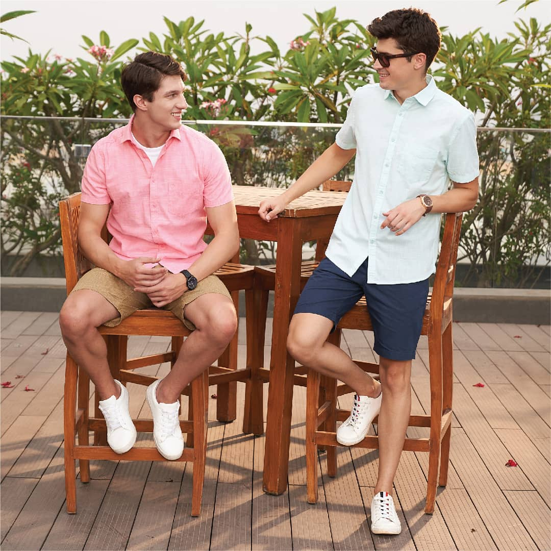 2. light casual fitted shirts from CODE by Lifestyle!