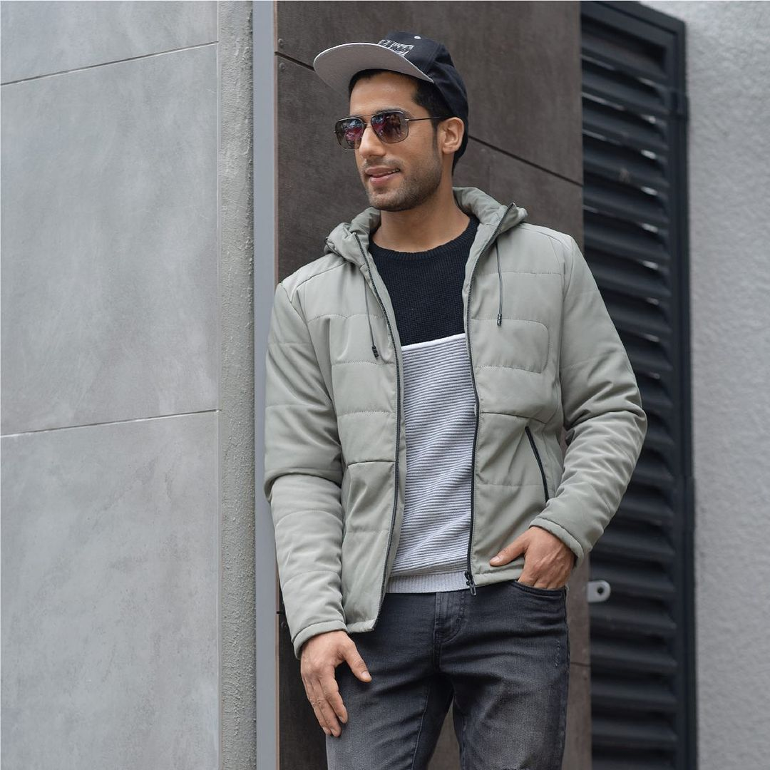 2.Solid Panelled Bomber Jacket by BOSSINI from Lifestyle!
