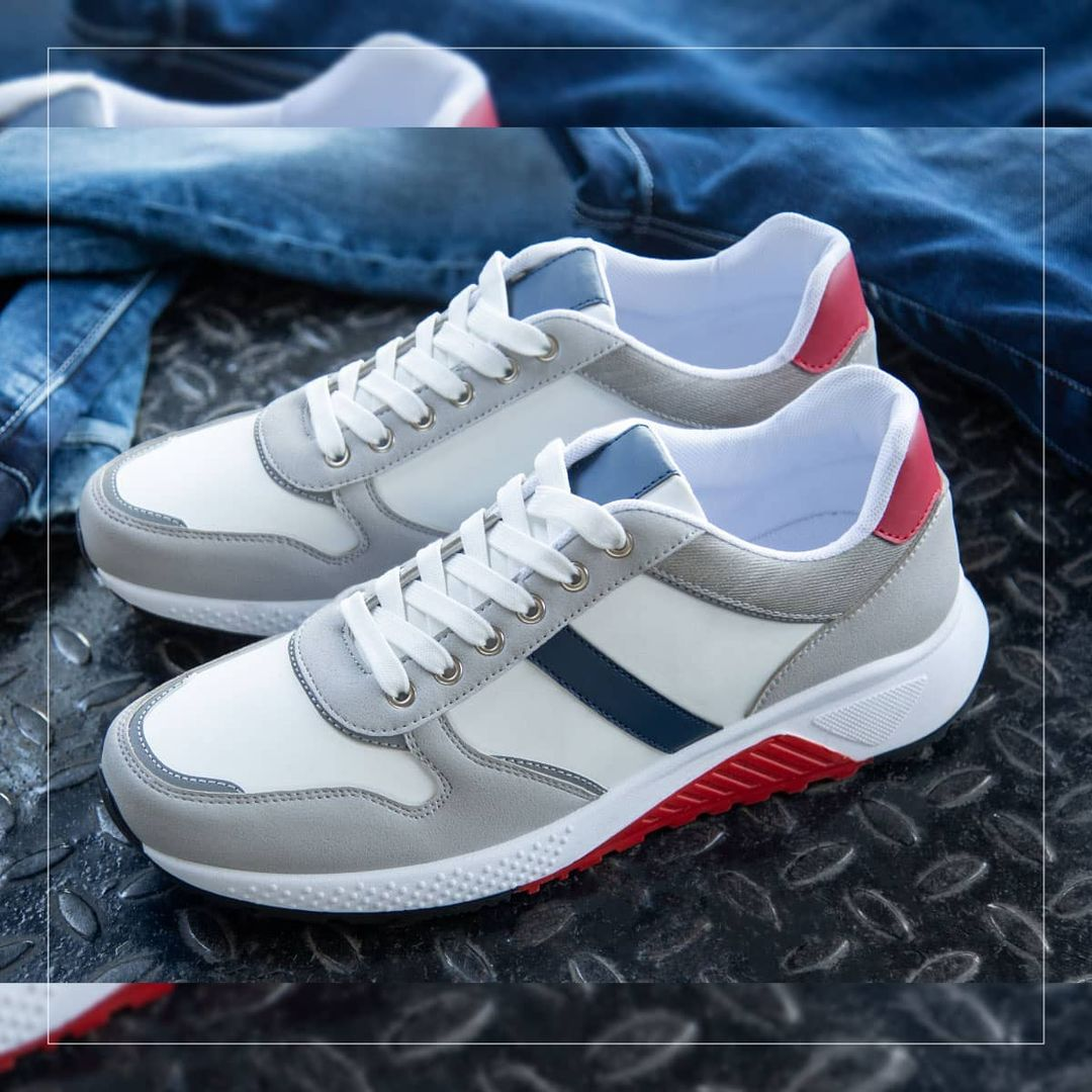 2.Textured Sports Shoes from FORCA by Lifestyle.Textured Sports Shoes from FORCA by Lifestyle.