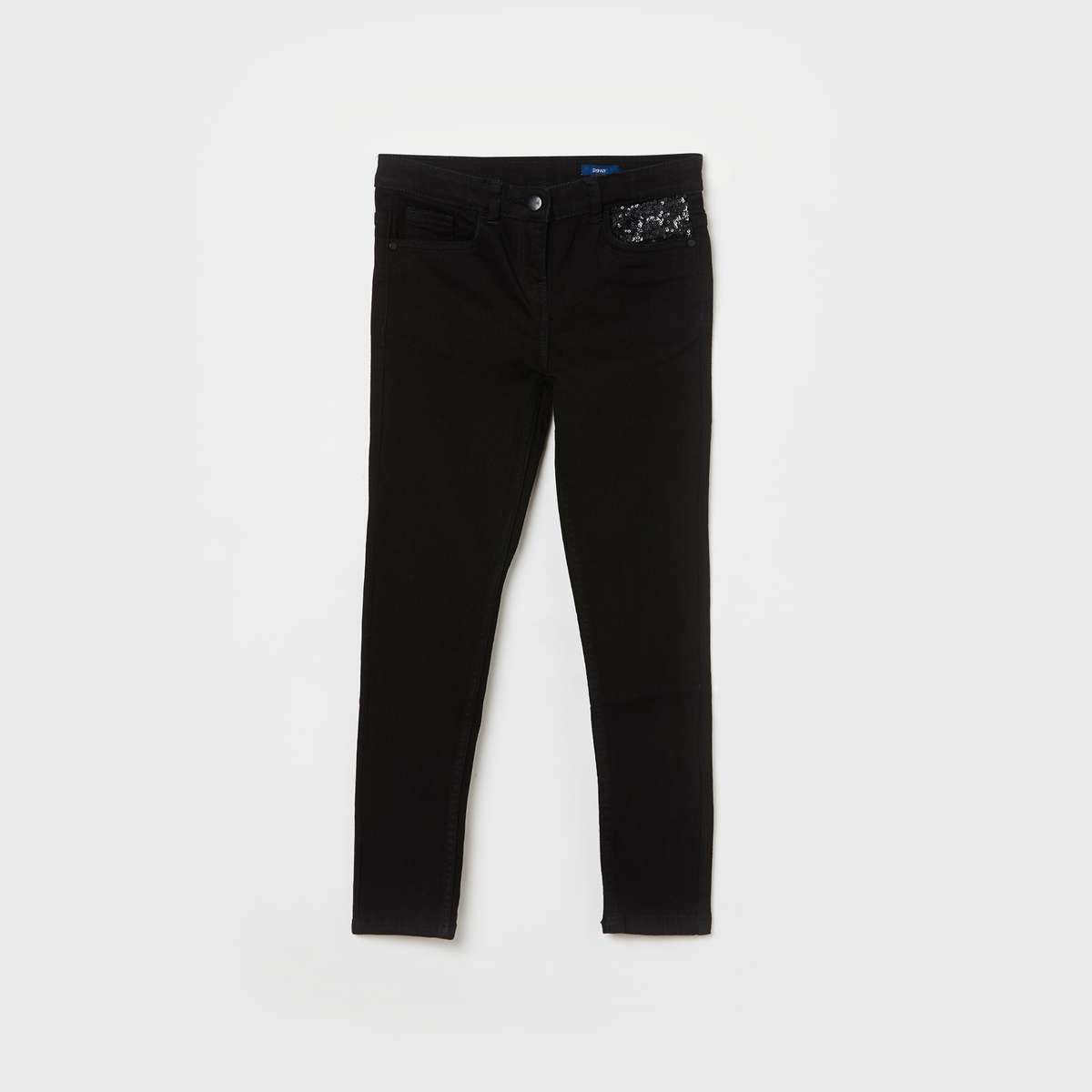 1.FAME FOREVER YOUNG Girls Solid Slim Fit Jeans