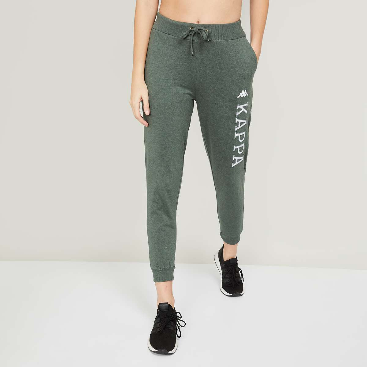 1.KAPPA Women Embroidered Joggers