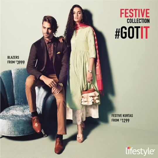 Lifestyle festive collection men women AW18