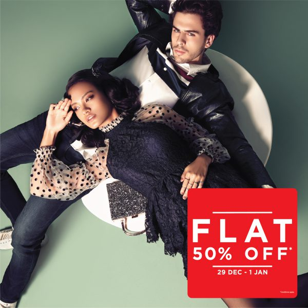 Lifestyle sale flat 50 off AW18