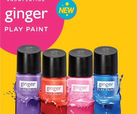Ginger nail paints ss19
