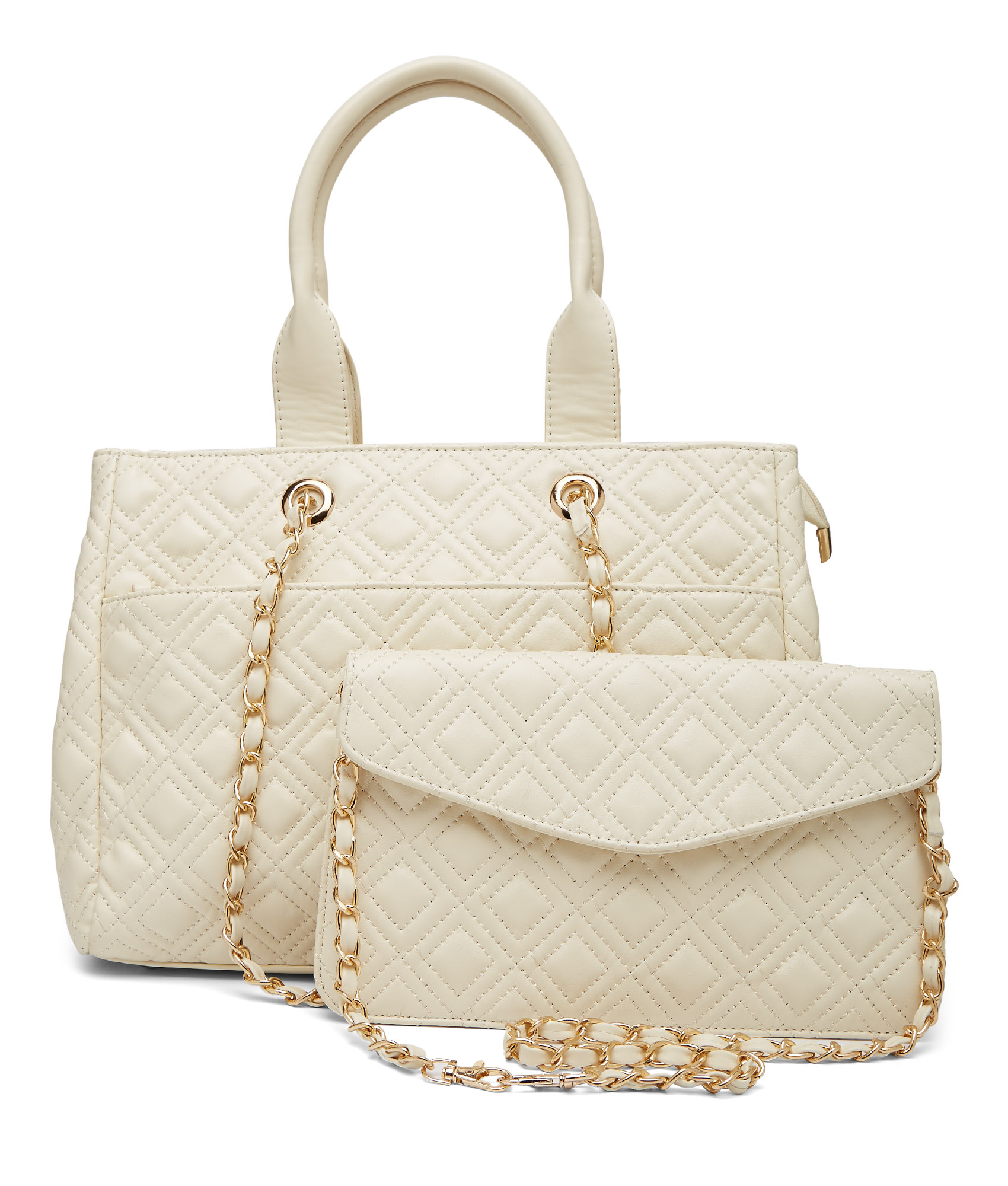classy quilted bag for women