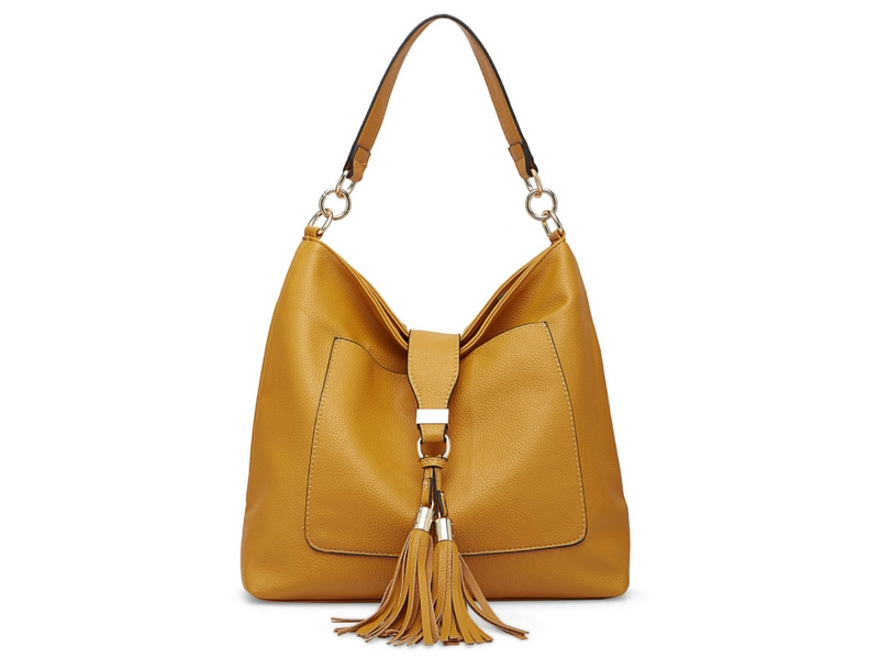 Paprika tan hobo bag