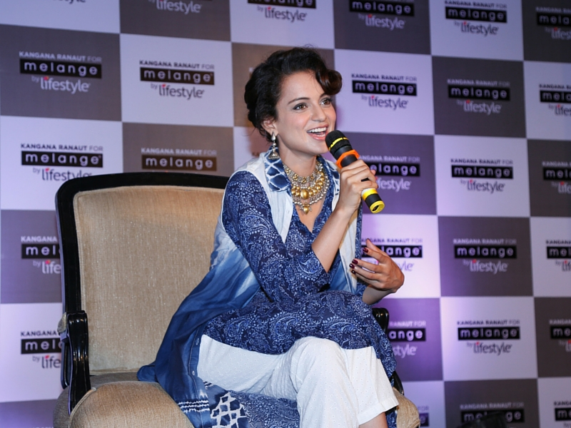 Kangana Ranaut for Melange interview