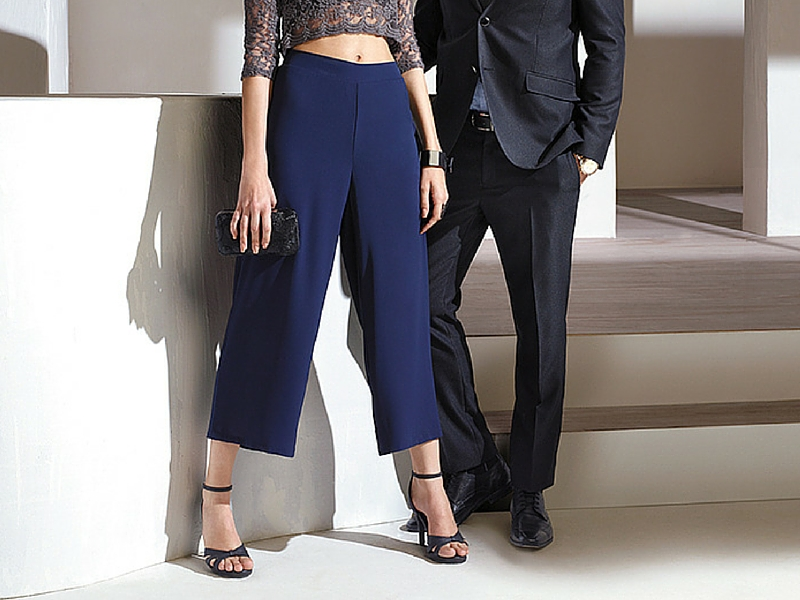 Culottes trend for partywear