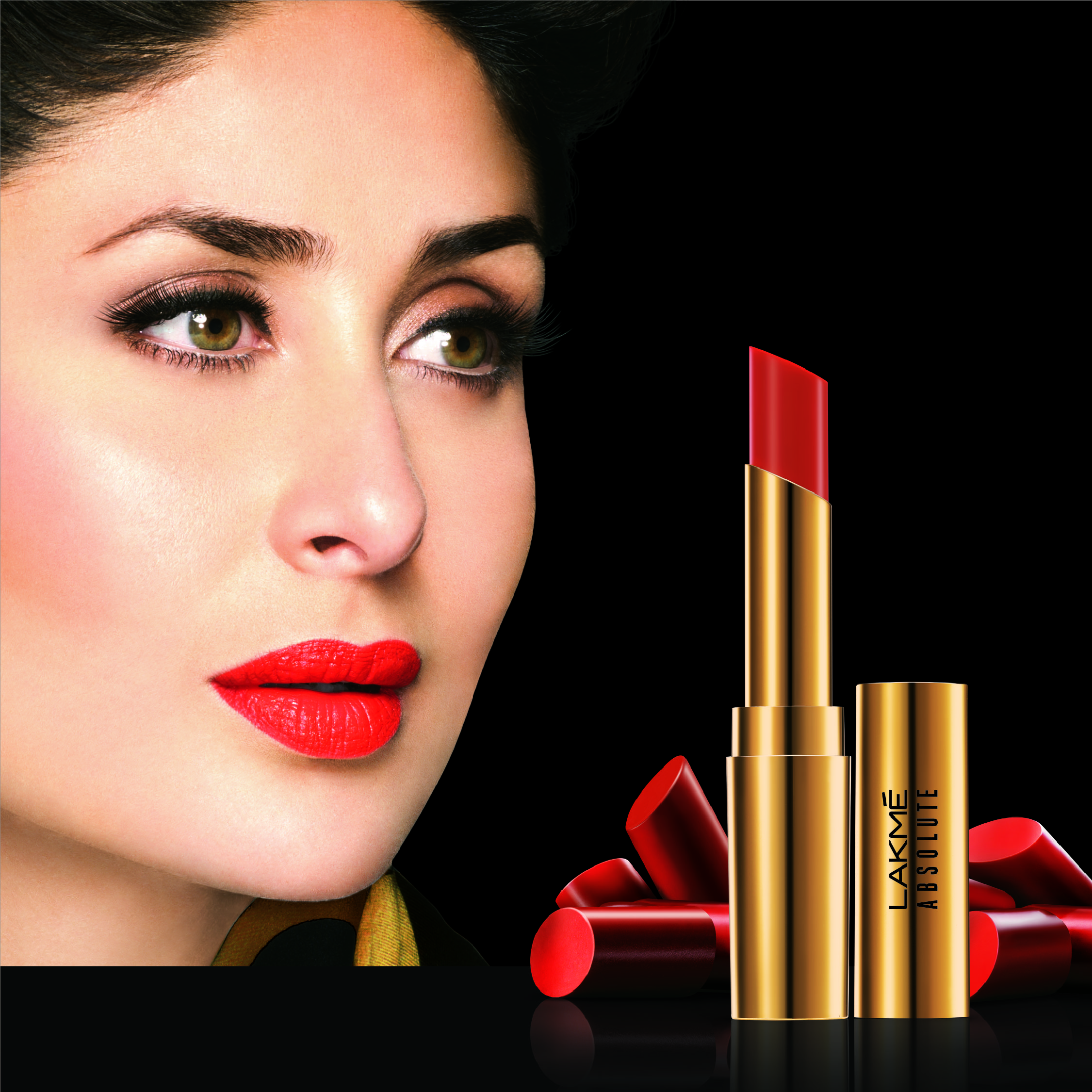 Lakme Absoluet Argan Oil lipstick in Drenched Red
