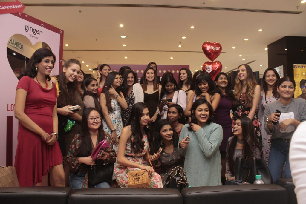 POPxo ginger campus squad v-day event