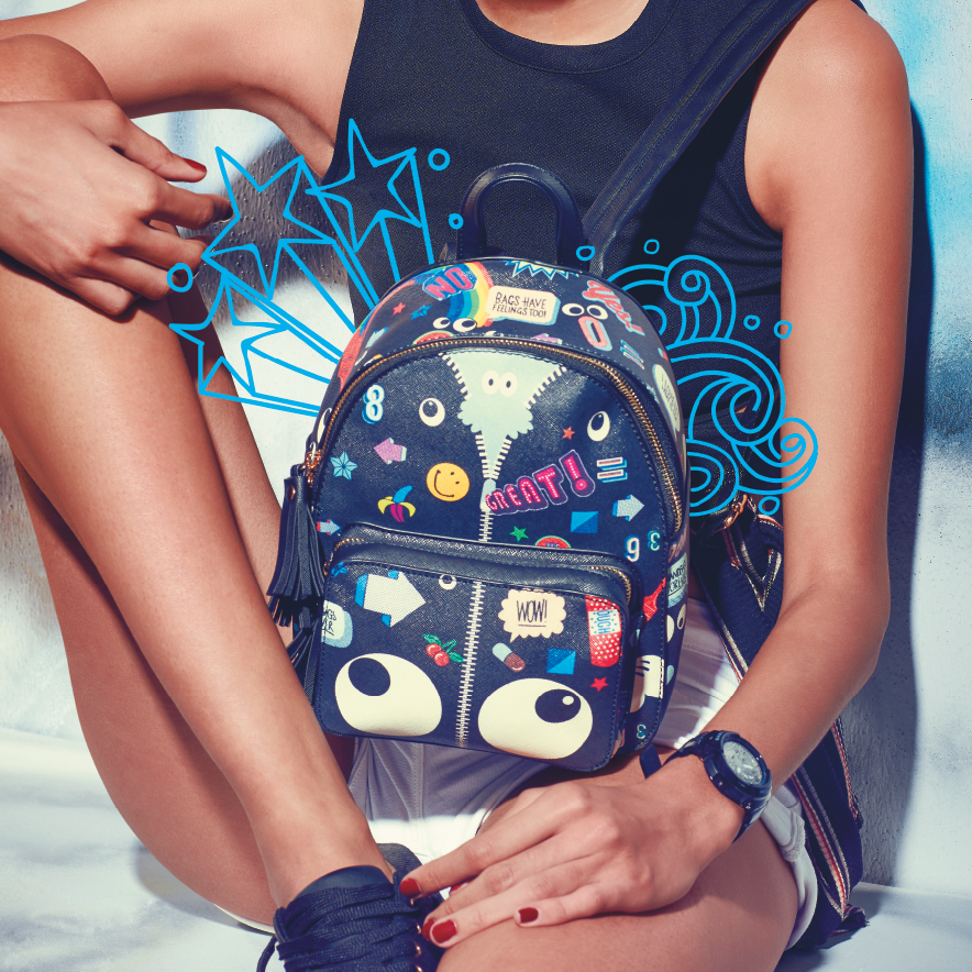 holiday accessories backpack
