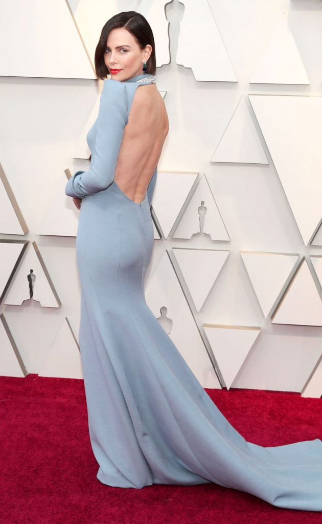 Charlize Theron-Oscars-red carpet-style-2019