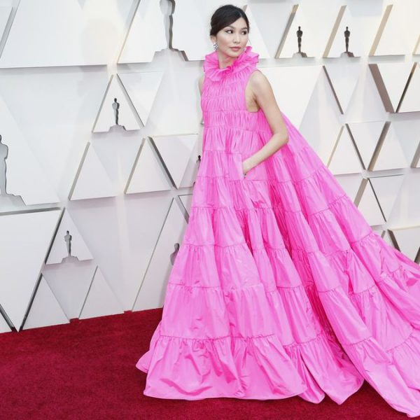 Jemma Chan-Oscars-red carpet-style-2019