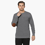 PROLINE Waffle Knit Henley Neck Full Sleeves Sweater