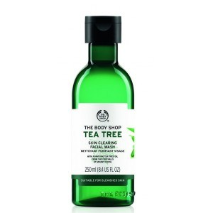 The Body Shop Tea Tree Skin Cleaning Facial Wash skincare Lifestyle
